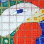 『鳥獣花木図屏風』部分2