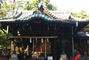 三囲神社 本殿