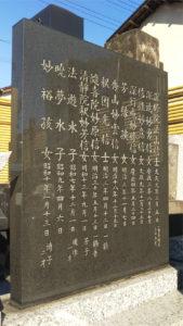 歌川国芳家系戒名