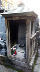 葛飾北斎墓