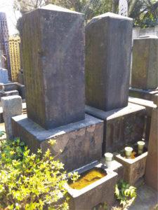 歌川国貞(三世歌川豊国)墓