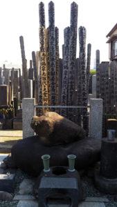 河鍋暁斎の墓