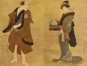 贋作・写楽「市川団十郎・瀬川菊之丞図」