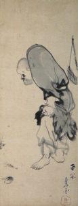 蜆子和尚図(長沢芦雪画)