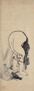 丹霞焼仏図(長澤芦雪画)