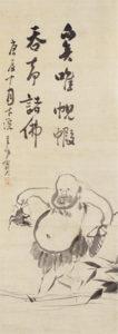 蜆子和尚図(仙厓画)