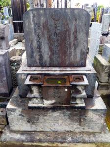若菜屋島次の墓