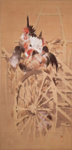 雪中群鶏図(1893)