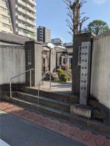 源空寺墓所入口