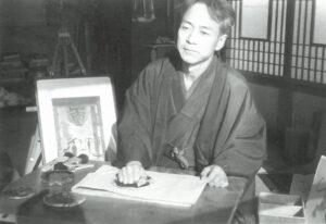 笠松紫浪(昭和二十七年撮影)
